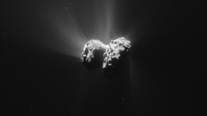 sbuffi gassosi dalla cometa  67 P