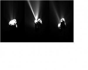 La cometa 67 P CG