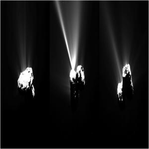 La cometa 67 P in perielio