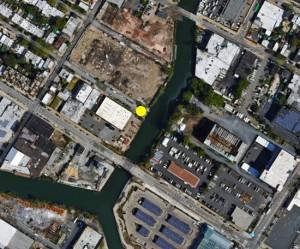 Mappa e sito del canale Gowans