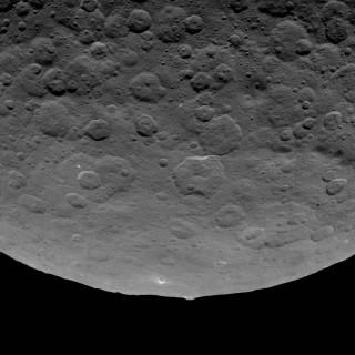 Cerere come lo vede la sonda Alba
