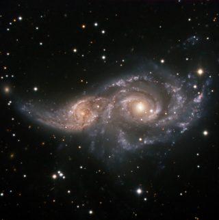 galassia NGC2207