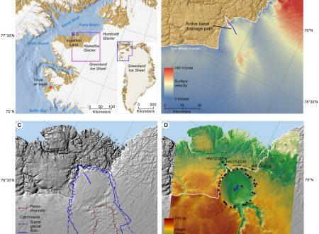 Alla ricerca di un cratere d'impatto in Groenlandia
